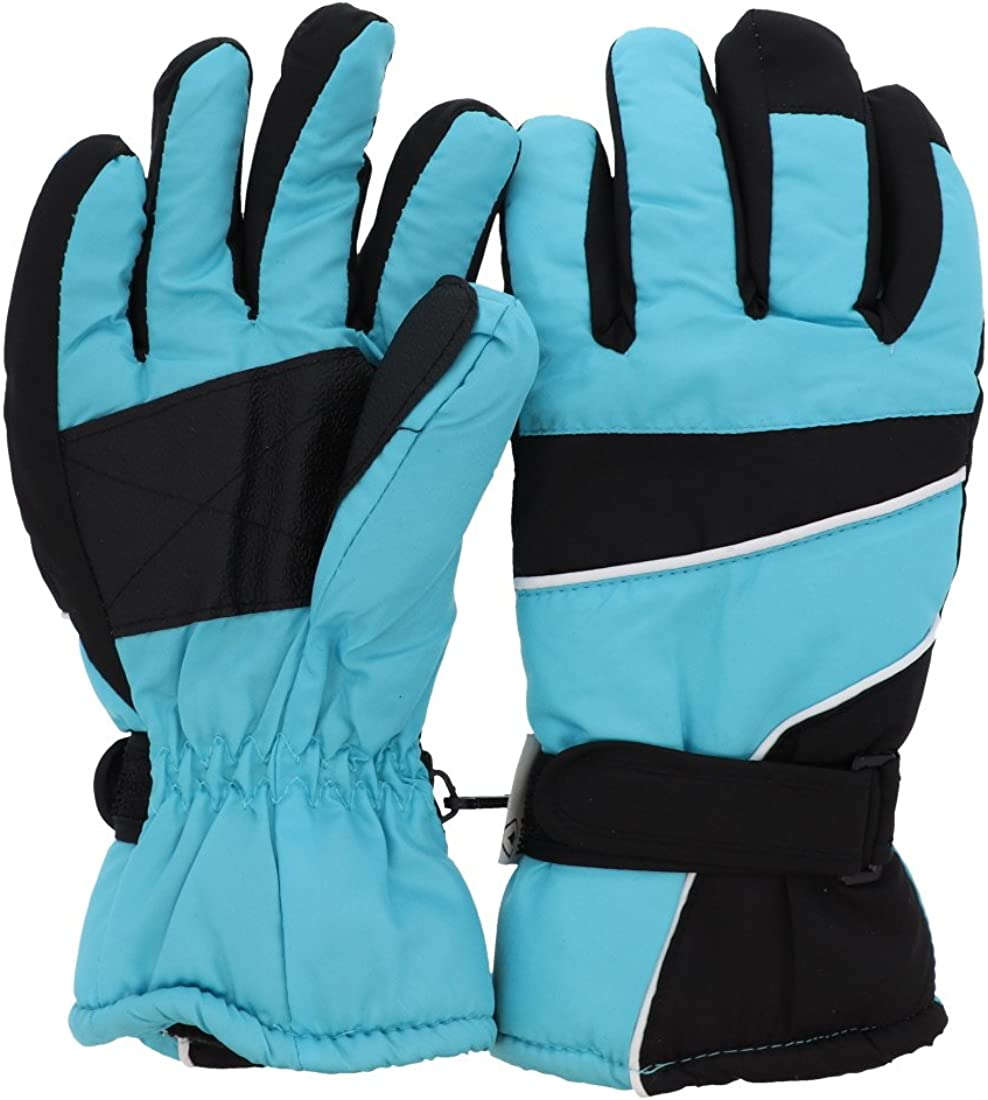 Black Tip Ski Gloves Woman...