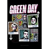 Green Day–Uno, dos, Tre Póster–Póster Interactive–Bandera (100% poliéster