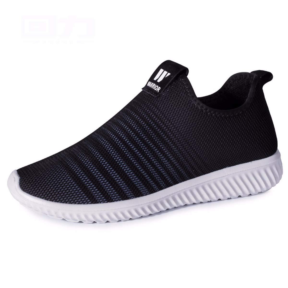 KMJBS-Männer - Schuhe Die Schuhe Im Frühling und Sommer - Schuhe Füße Faul Schuhe Atmungsaktiv Licht Sport Casual Schuhen.
