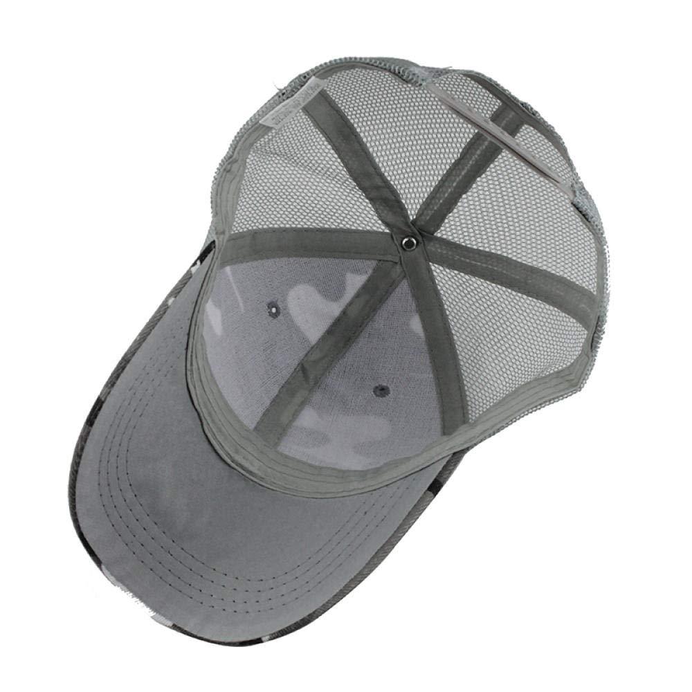 Summer Baseball Cap Embroidery Camouflage Mesh Cap Hats for Men WoMensnapback Gorras Hats Casual Dad Hip Hop Caps F141