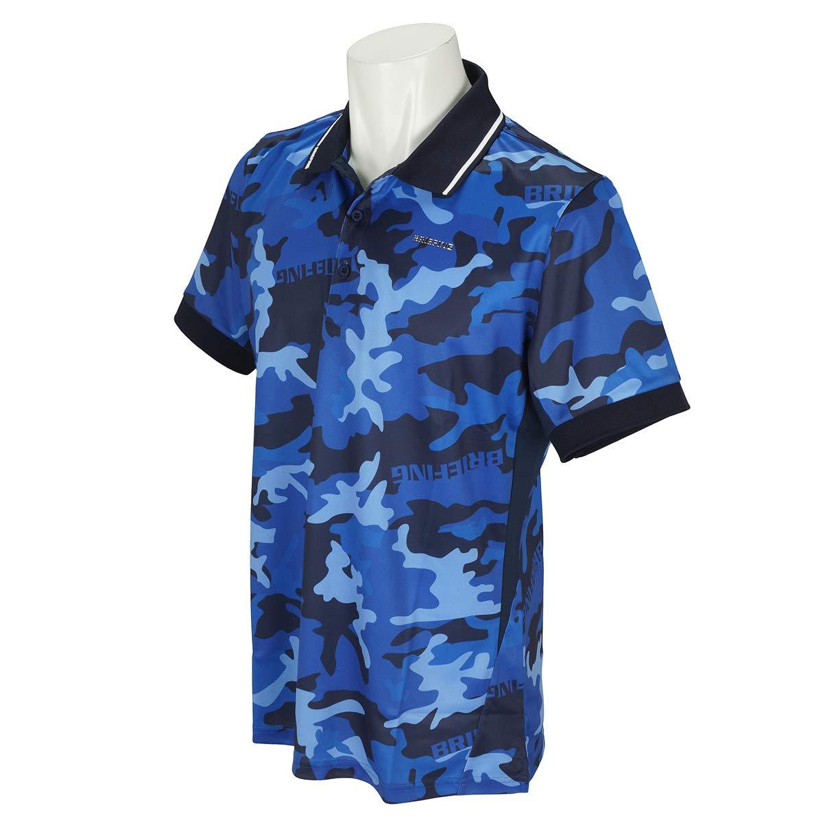 ポロシャツ メンズ ブリーフィング ゴルフ BRIEFING ゴルフウェア brg191m09   B07RX3LF3J