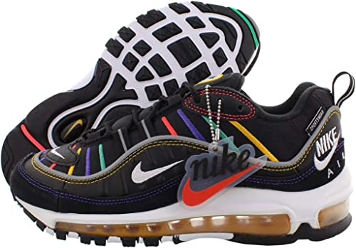 Nike Air Max 98 Premium Nero 38½: Amazon.it: Scarpe e borse