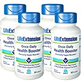 Life Extension Once-Daily Health Booster (formerly Super Booster) 60 Softgels - 4-Pak