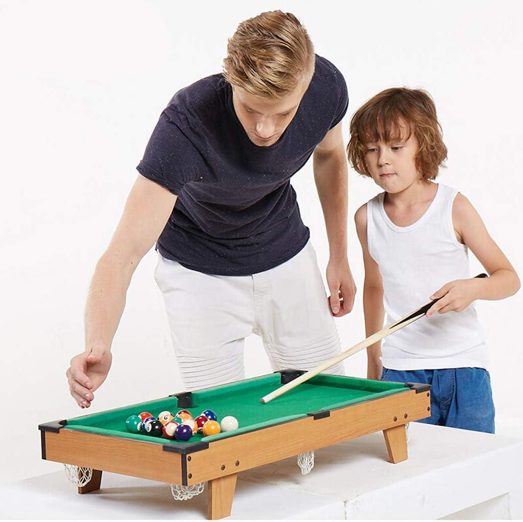 TY-Pool Table MMM@ Mesa de Billar para niños Inicio Mini pequeño ...