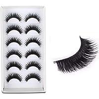Electomania Natural Smoky Makeup Long False Eyelashes (Black) 6 Pairs