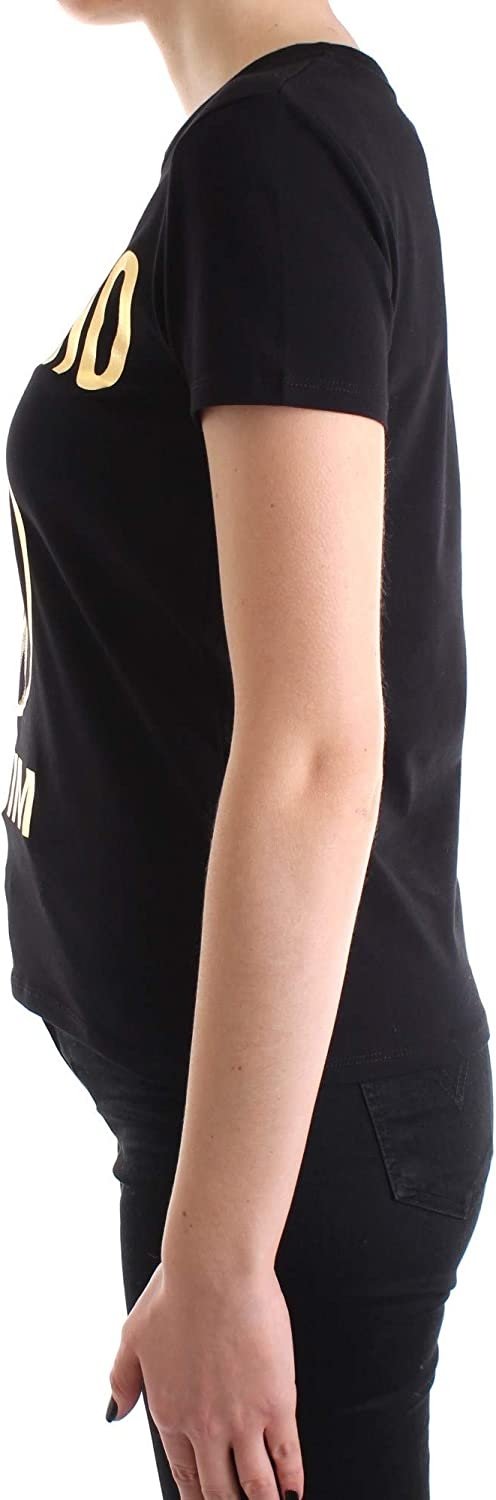Moschino T-Shirt Donna A1906 Gold Nero