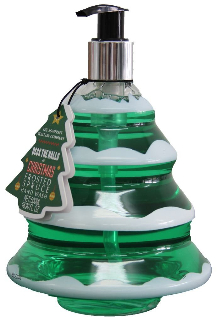 Somerset Toiletry Company Christmas Tree Frosted Spruce Festive Hand Wash 500 ML The Somerset Toiletry Co