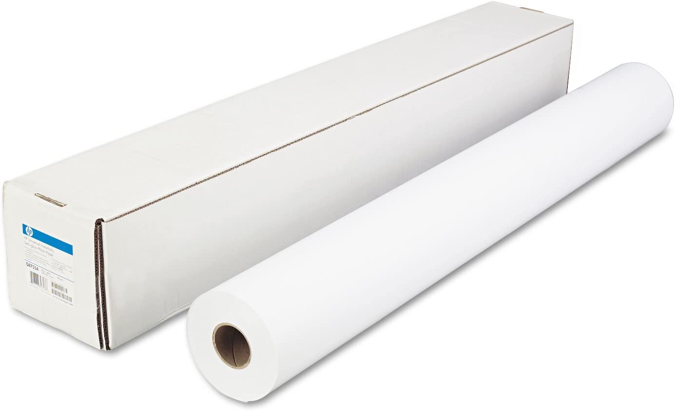 HP Q8755A Universal Instant-Dry Semi-Gloss Photo Paper, 51 lbs, 42-Inch x 200 ft, Roll