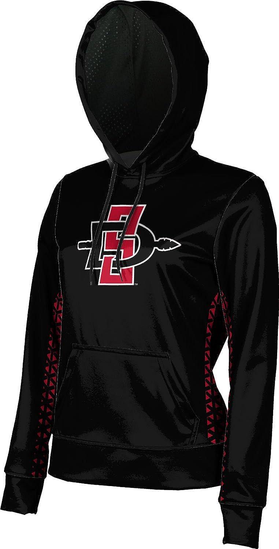 San Diego State University Girls Pullover Hoodie Geometric School Spirit Sweatshirt