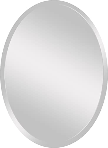 Spancraft Glass 207-2436 Oval Beveled Mirror