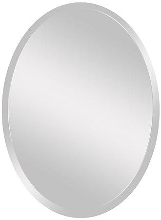 Spancraft Glass 206-2230 Oval Beveled Mirror, 22 x 30