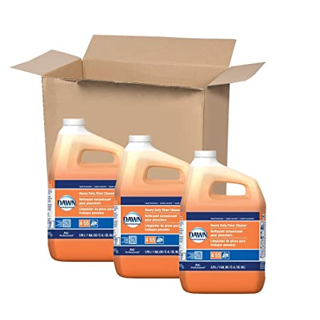 Heavy Duty Floor Cleaner by Dawn Professional, Bulk Multi-Surface Degreaser Concentrate is Great...