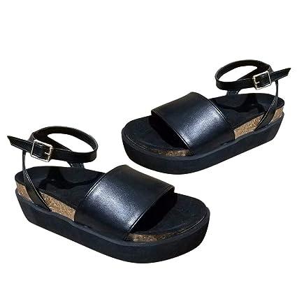 9fedb17994bcd Amazon.com: ❤ Mealeaf ❤ Women's Platform Strappy Sandals ...