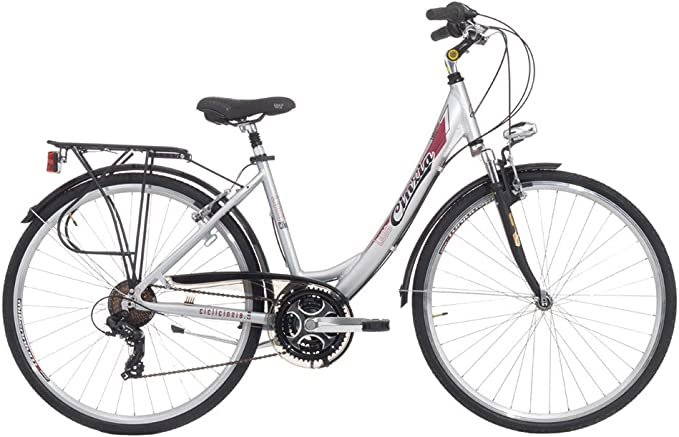 Bicicleta Cicli Cinzia Luna de mujer, con marco de aluminio ...