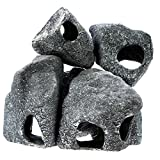 Dr.moss Cichlid Grain Stone Cave Aquarium Fish Tank Decoration (6 pcs:S2+M+L+XL+XXL)