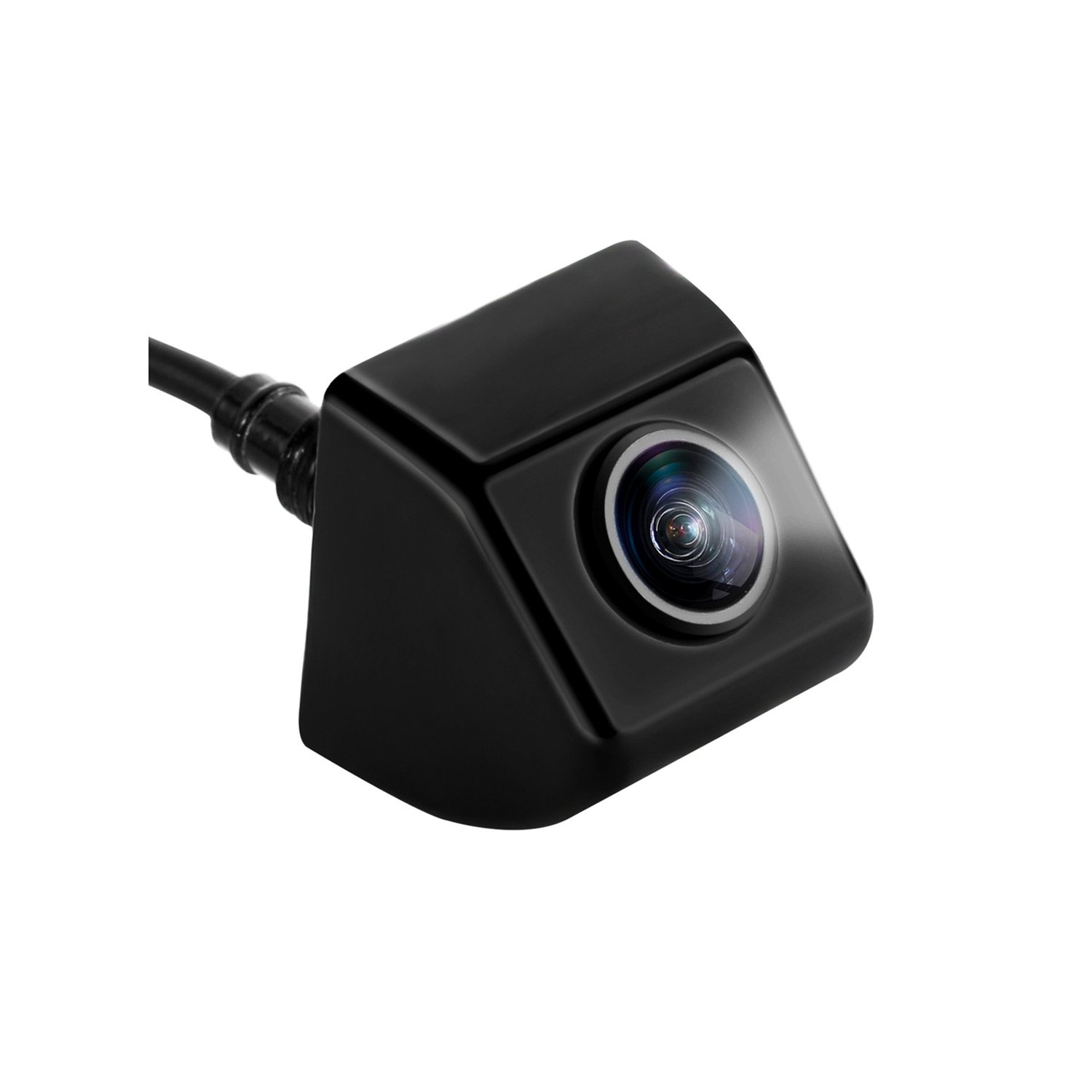 LeeKooLuu Backup Camera for Car/RV/Truck 150 Degree Viewing Angle with Intelligent Button Switch for Rear/Side/Front Facing View ON/Off Guide Lines Reverse/Continuous Use IP68 Waterproof Night Vision
