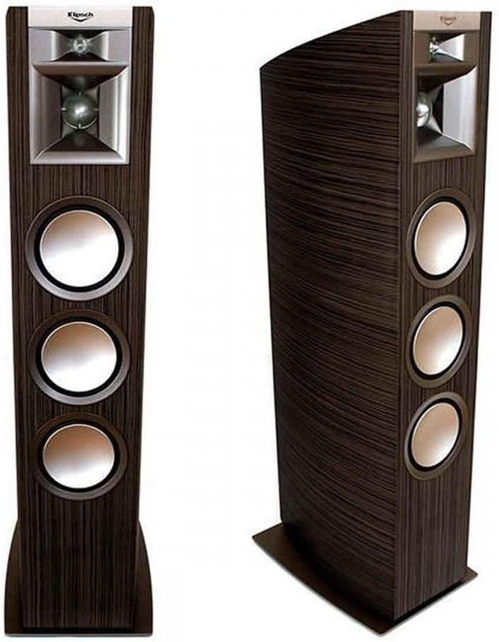 1. Klipsch Palladium P-39F Espresso Floorstanding Speakers