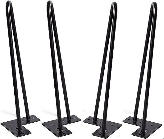 Horquilla patas de 16 pulgadas de 4, DIY muebles de mesa de metal ...