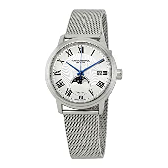 79fd426e2 Image Unavailable. Image not available for. Color: Raymond Weil Maestro  Automatic Silver Dial Mens Moonphase Watch 2239M-ST-00659