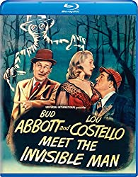 Abbott & Costello Meet The Invisible Man [Blu-ray]