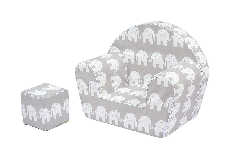 MoMika Fauteuil pour Enfant pour Enfants Tout-Petits Enfants de Haute qualité Canapé Assise, avec Cube de Jeu (0–4Ans Vieux)