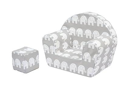 Sillón silla para niños MoMika | Sofá Taburete de asiento para niños | Asientos de sofá de alta calidad para niños pequeños y niños | Cubo de Juego ...