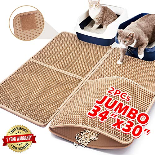 Upgraded Cat Litter Mat Extra Large 34