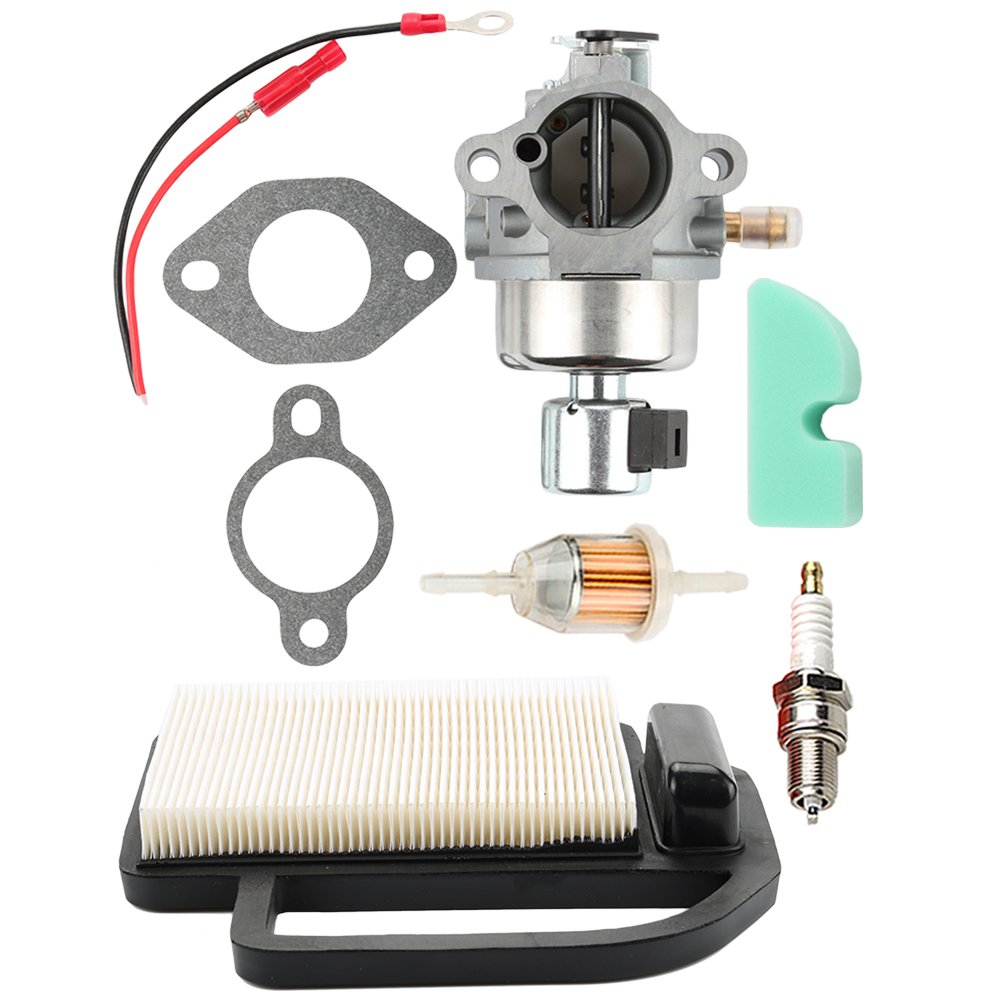 Hilom 20-853-33-S Carburetor + 20 083 02-S Air Filter for Kohler Courage SV Series SV530 SV540 SV590 SV591 SV600 SV601 SV610 SV620 Toro Engine 12 853 117-S