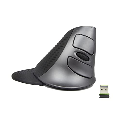 2860efab33a J-Tech Digital Scroll Endurance Wireless Mouse Ergonomic Vertical USB Mouse  with Adjustable Sensitivity (