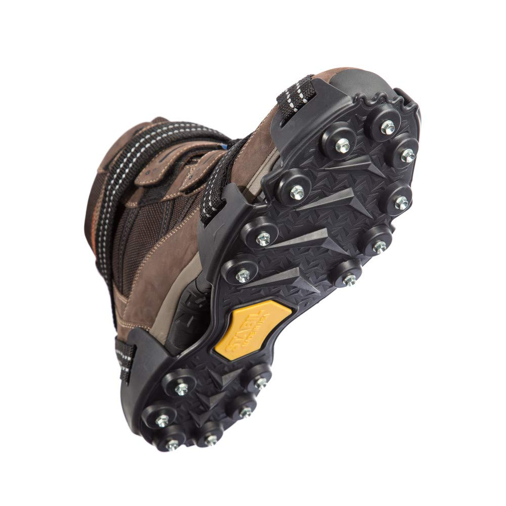 STABILicers Maxx2 Heavy Duty Outdoor Ice Cleat, Black/Yellow, Medium