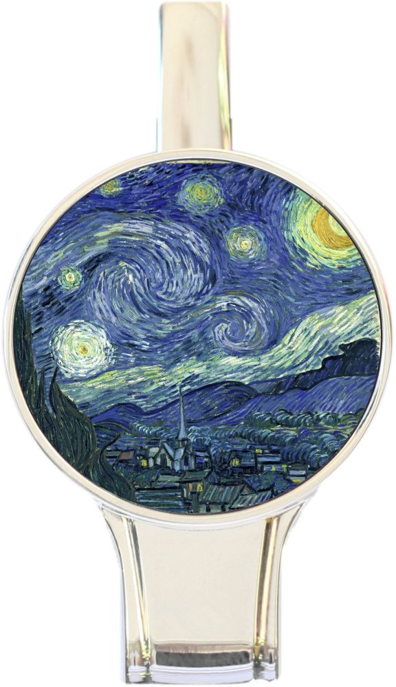 Everything Starry Night Purse Hanger Round Top Handbag Table Hook