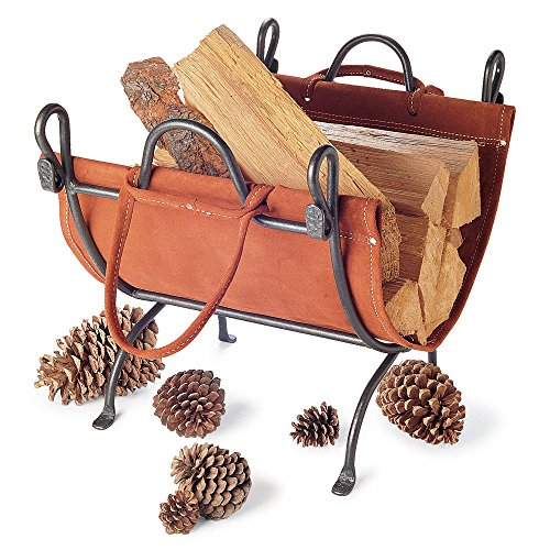 Pilgrim Home and Hearth 18518 Folding Log Carrier by Pilgrim Home and Hearth