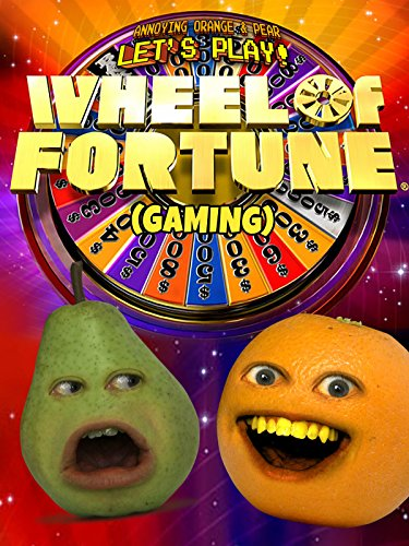 Clip: Annoying Orange & Pear Let's Play - Wheel of Fortune (Gaming)