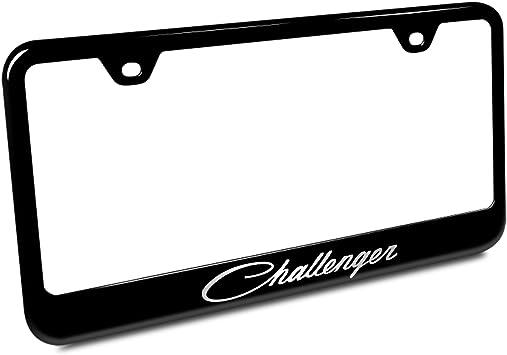 Dodge Challenger Blackout License Plate Frame