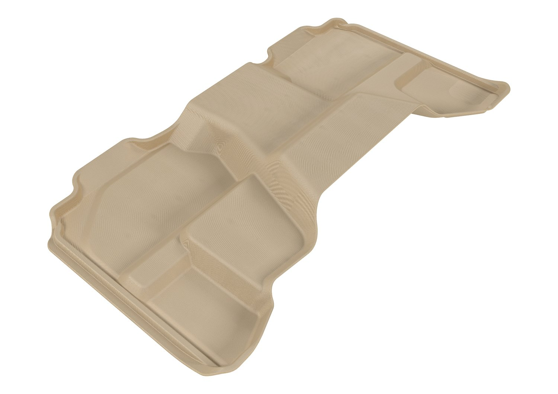 3D MAXpider Second Row Custom Fit All-Weather Floor Mat for Select Chevrolet Silverado//GMC Sierra Models Kagu Rubber L1CH05021509 Black