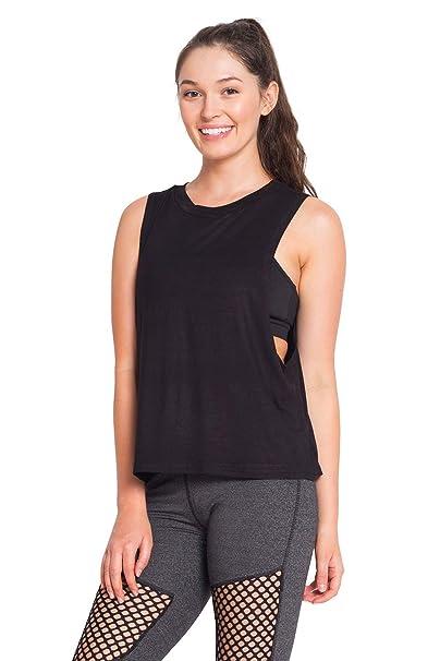Amazon.com: Namaste Everyday Yoga Shirt Sport Tank Tops for ...