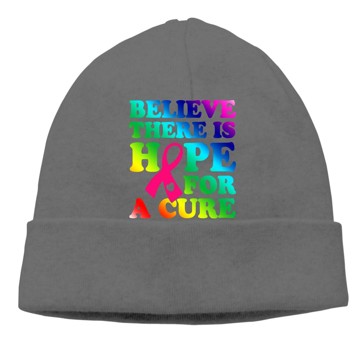 GDSG5/&4 Believe There is Hope for A Cure Men /& Women Sweat Wicking Sports Beanie Cap