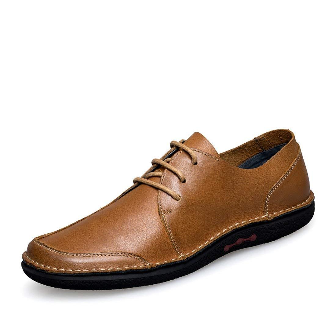 Herren Oxfords-Style Gummisohle Braun Fashion Turnschuhe UK 8.5 (Farbe   -, Größe   -)