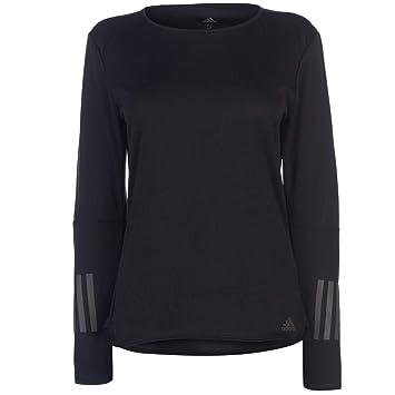 b3a3ecec95dd6 adidas Performance Damen Laufshirt: Amazon.de: Sport & Freizeit