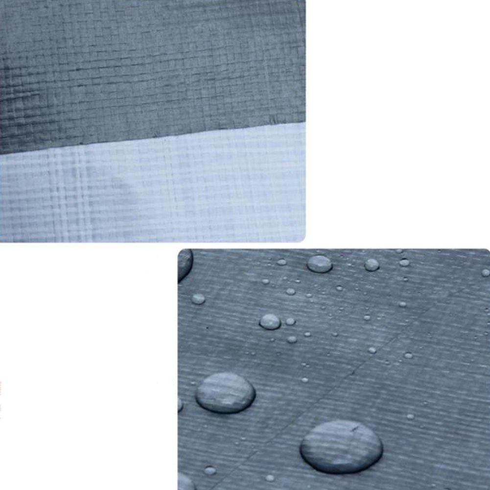LQQGXL LKW-Regenschutz-Sonnenschutz-Ladung staubdicht Winddicht Winddicht staubdicht Schuppenstoff Faltbare Anti-Oxidation Wasserdichte Plane 373d24