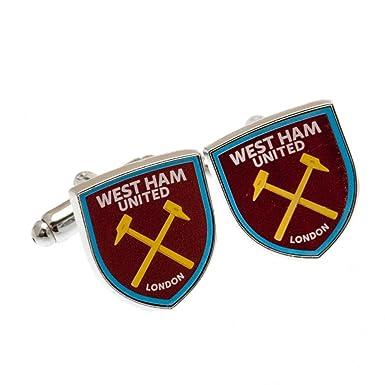 West Ham United F.C. Cuffllinks: Amazon.es: Ropa y accesorios