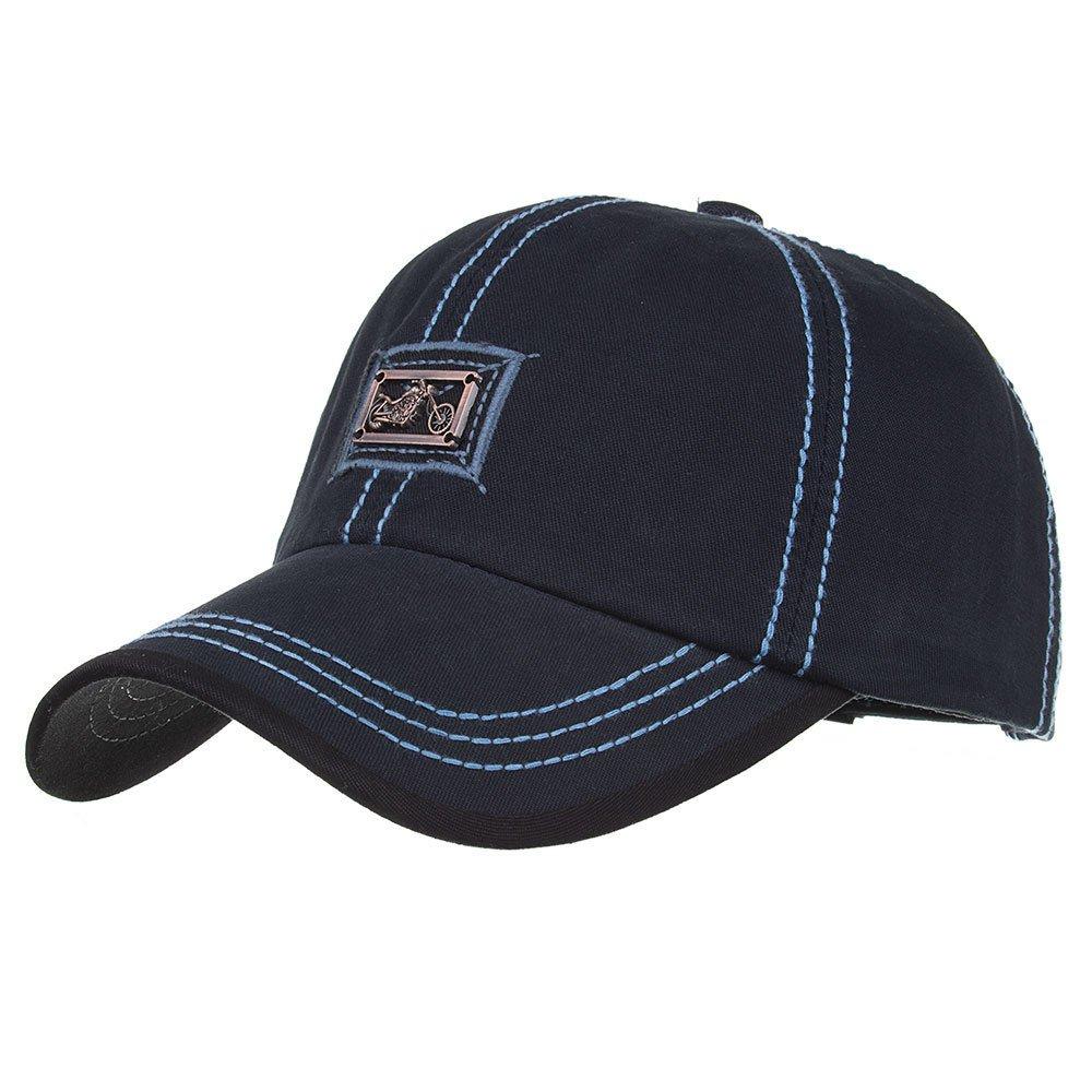 Details about AKIZON Mens Baseball Cap - Ball Hat for Men - Adjustable  Baseball Cap - Cotton 037700b5d3e