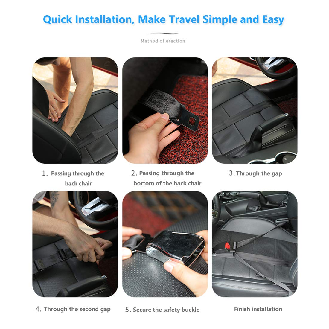 Comfort /& Safety for Pregnant Moms Belly Bump Belt Maternity Car Belt Adjuster Protect Unborn Baby a Must-Have for Expectant Mothers