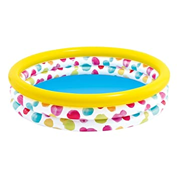 Intex - 59419 Piscina Hinchable Infantil, 156 litros, 114 x 25 cm (ColorBaby 59419NP)