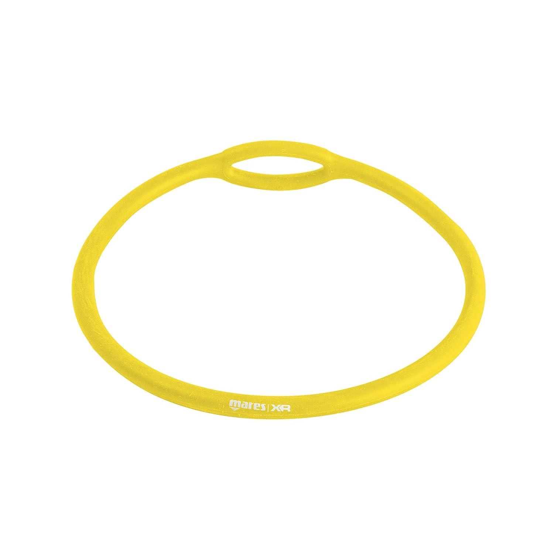 MARES 415763, Collare Porta Erogatore Unisex – Adulto, Giallo, Taglia Unica