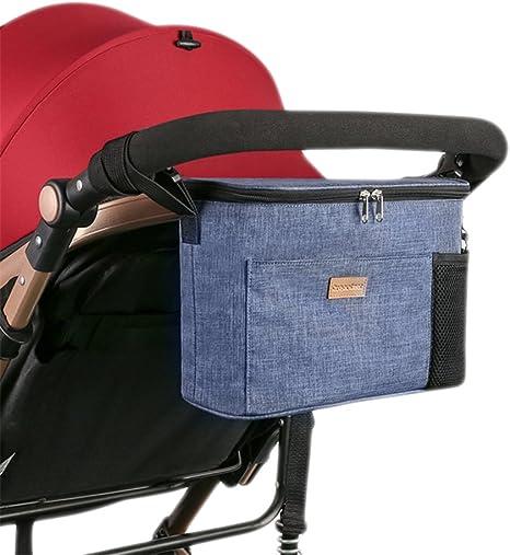 Ganchos para cochecito de bebé, accesorios para cochecito, ganchos para colgar bolsas de pañales, bolso, organizador de cochecito, perfecto para