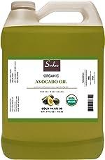 1 Gallon (128 OZ) 100% Pure Organic Cold Pressed Unrefined Extra