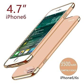 Riachy Funda con batería para iPhone 6 iPhone 6s 4.7 Inch ...