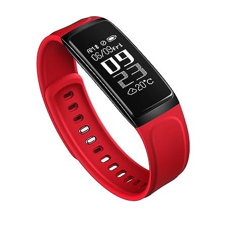 Amazon.com: Bluetooth Blood Pressure Smart Watchintelligent Hand Ring Waterproof Reloj Inteligente Pulsometro Ritmo Cardiaco(Red): GPS & Navigation