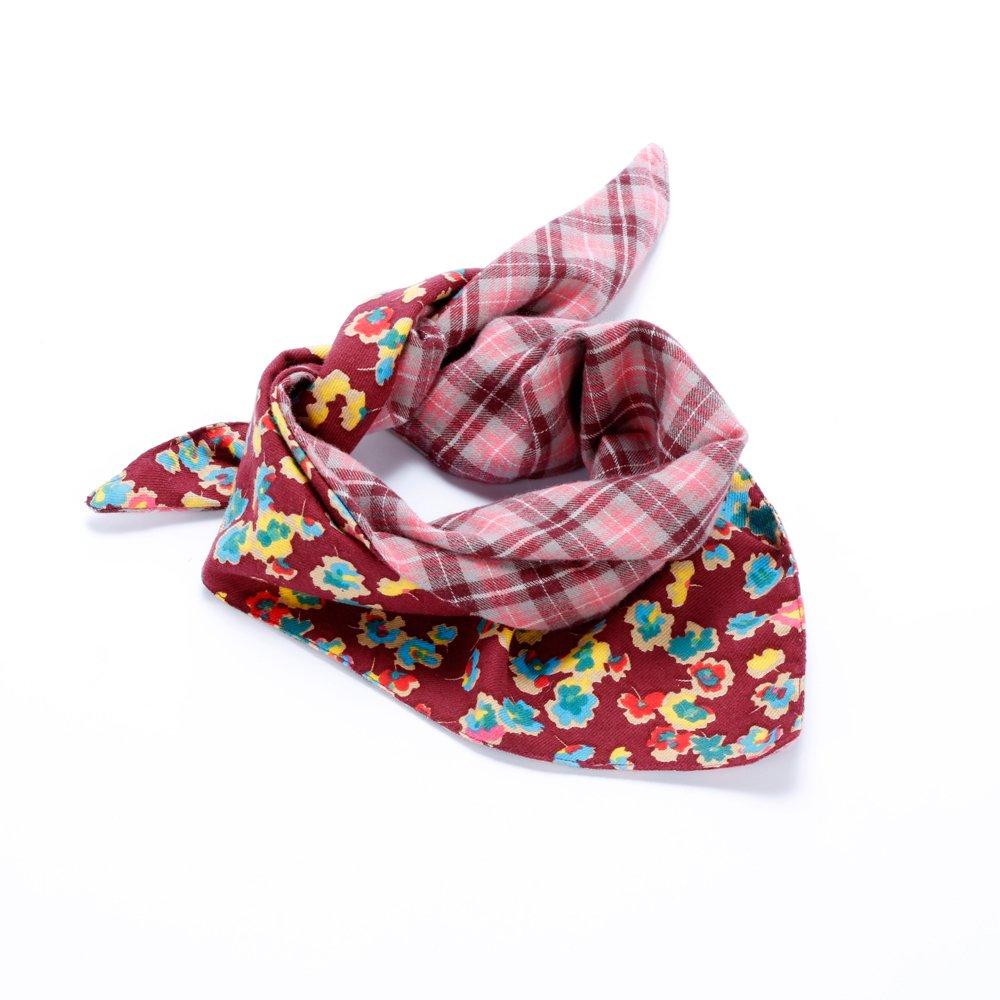 Peppercorn Kids Reversible Triangle Bandana Scarf - Multi Cherry